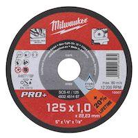 270x270-Диск отрезной по металлу MILWAUKEE SC 41/125 125мм/1мм 4932451487