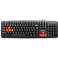 Клавиатура Nakatomi KN-02U Black-Red
