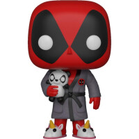270x270-Фигурка Funko POP! Bobble: Marvel: Deadpool Playtime: Deadpool in Robe (31118)