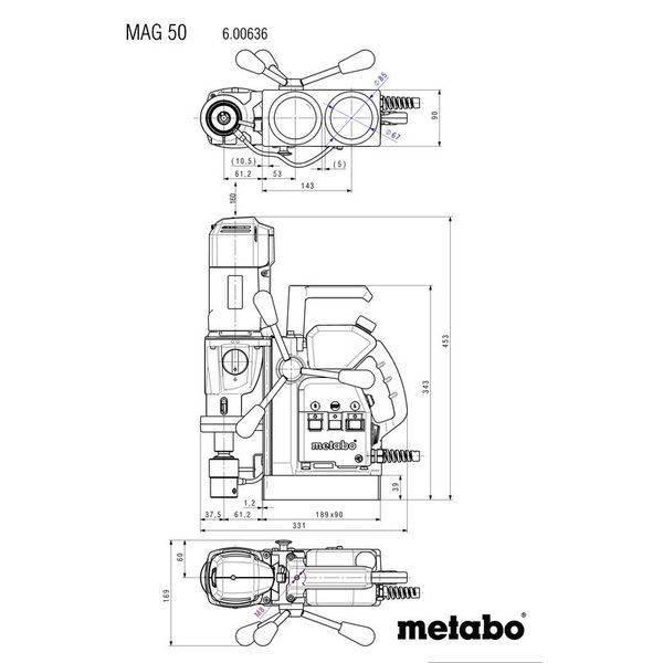 Станок Metabo MAG 50 (600636500)