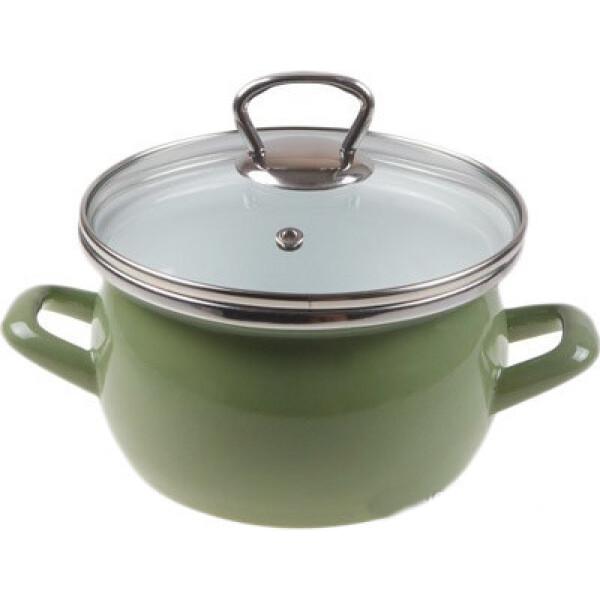 Кастрюля Сантэкс 1-2415111 (зеленый)
