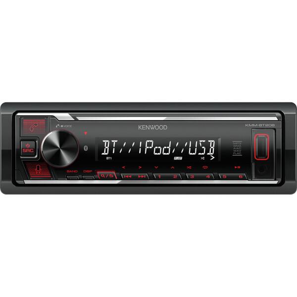 USB-магнитола Kenwood KMM-BT206