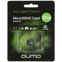 270x270-Карта памяти QUMO microSDHC QM32GMICSDHC10NA 32GB