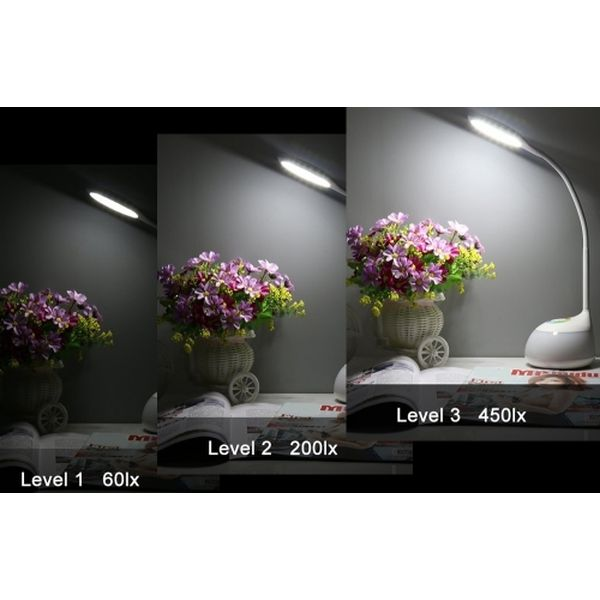 Светодиодный настольный светильник с ночником HARPER TL-PB888