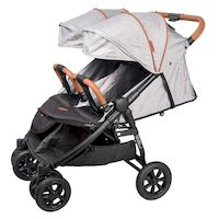270x270-Прогулочная коляска COLETTO Enzo Twin (серый)