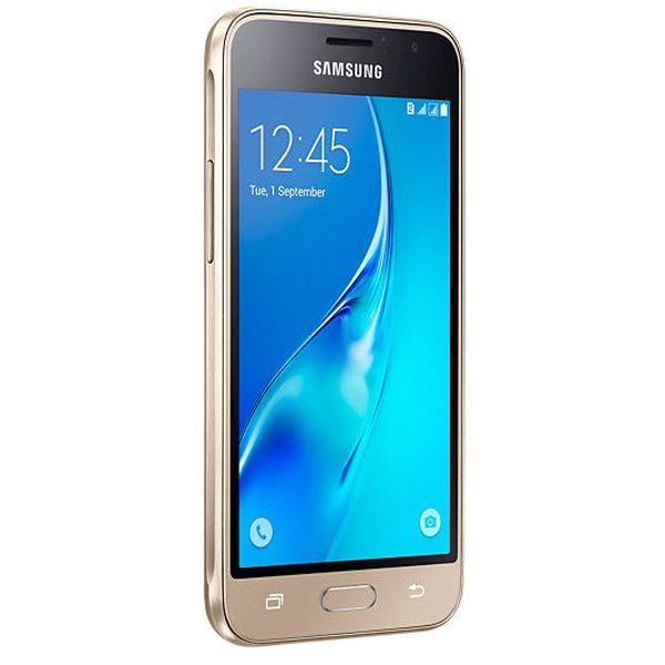Смартфон SAMSUNG Galaxy J1 SM-J120F/DS золотой (SM-J120FZDDSER)