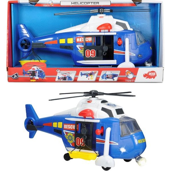 Вертолет Dickie со светом и звуком, 41 см, 20 330 8356