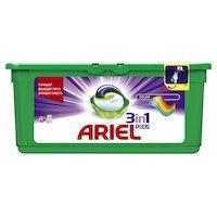 Синтетическое моющее средство жидкое в растворимых капсулах ARIEL Горный родник 27 шт