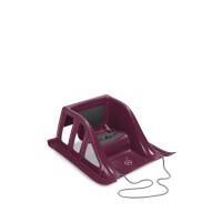270x270-Санки пластиковые HAPPY BABY SLIDEX (bordo)