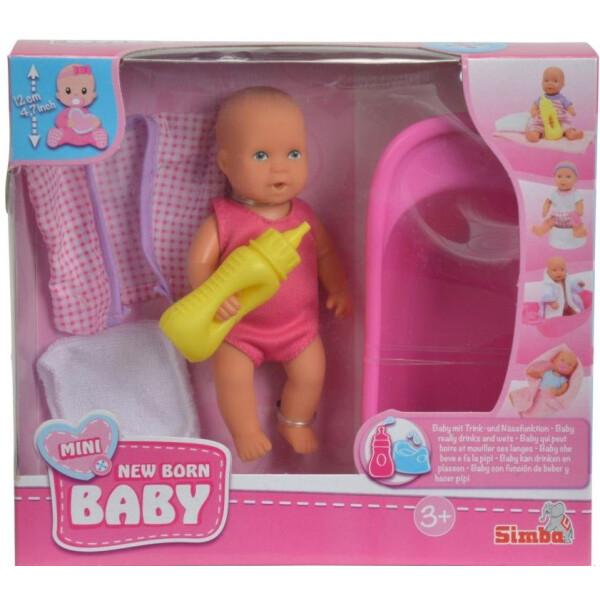 """Кукла Simba New Born Baby 105033218 """"Пупс с ванночкой"""""""