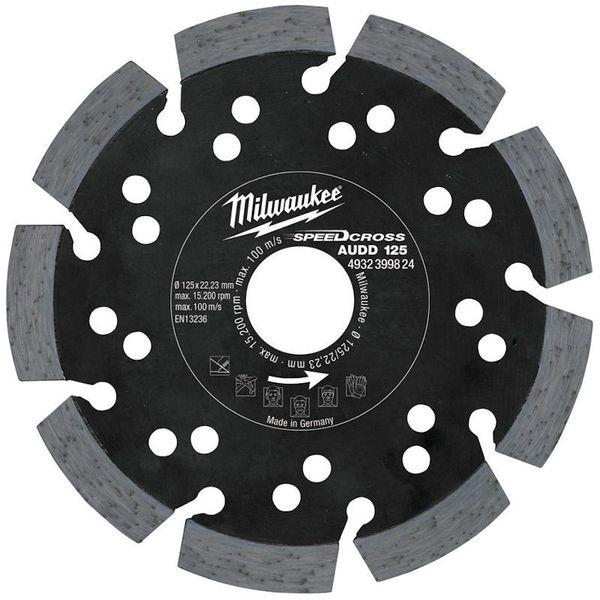 Алмазный диск MILWAUKEE D 125х22.2х2.6 4932399824