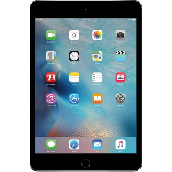 Планшет Apple iPad mini 4 Wi-Fi 128Gb Space Gray (MK9N2RK/A A1538)