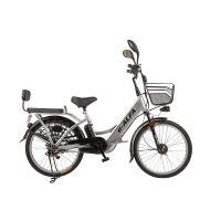 Велогибрид Eltreco E-Alfa (серый)