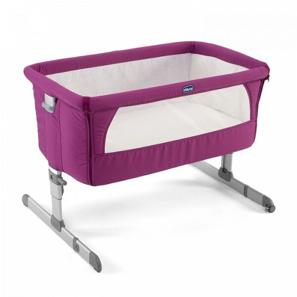 Детская кроватка Chicco NEXT2ME FUCHSIA