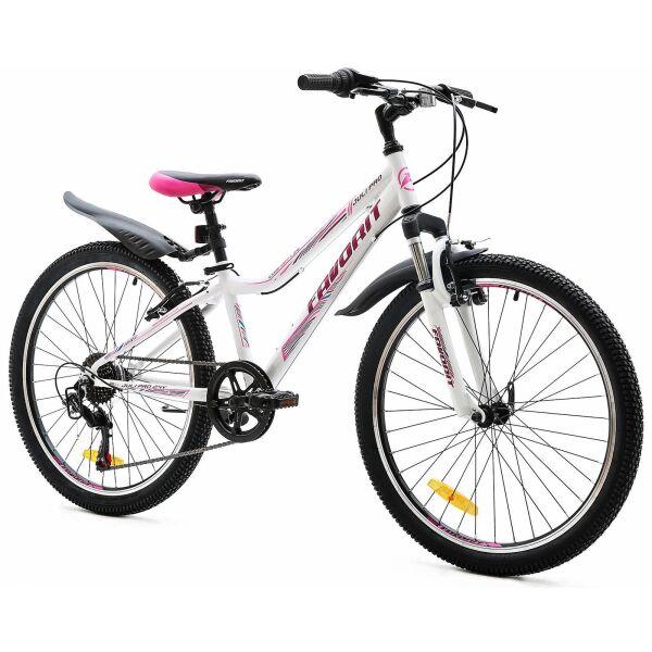 Велосипед Favorit Juli Pro 24 V (белый)