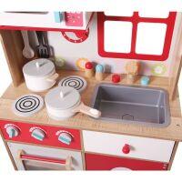 Деревянная Кухня ECO TOYS 4253 (16 предметов)