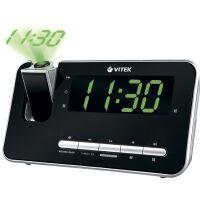 270x270-Радио-часы VITEK VT-6605 Black
