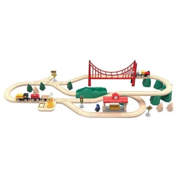 детская железная дорога Xiaomi Mi Toy Train Set (BEV4144TY)