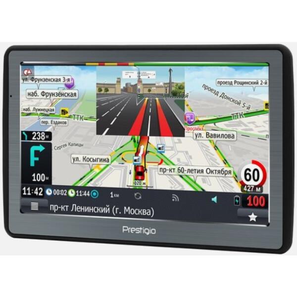 Комплект : GPS навигатор PRESTIGIO GeoVision 7060 Progorod (PGPS7060CIS04GBPG)+автомобильный видеорегистратор PRESTIGIO Roadrunner 140 (PCDVRR140)