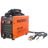 270x270-Сварочный инвертор Patriot WM 160AT MMA
