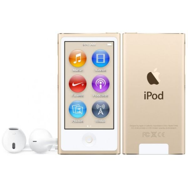 Плеер APPLE IPOD NANO MKMX2QB/A 16GB GOLD