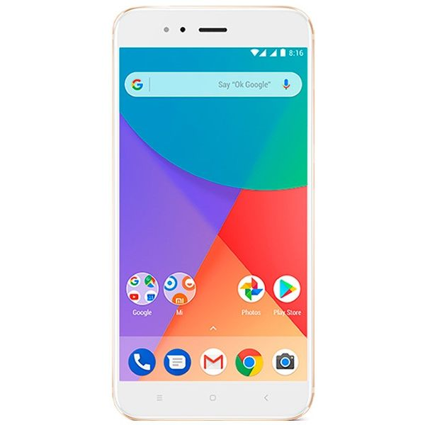 Смартфон Xiaomi Mi A1 4Gb/64GB золотой