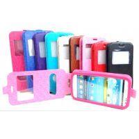 270x270-Флип-кейс BINGO U2WV-Series для телефона с экраном 4,5 - 4,8 фиолетовый
