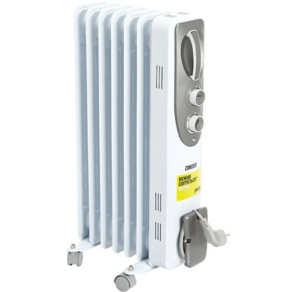 Масляный радиатор ZANUSSI Espressione ZOH/ES-07WN
