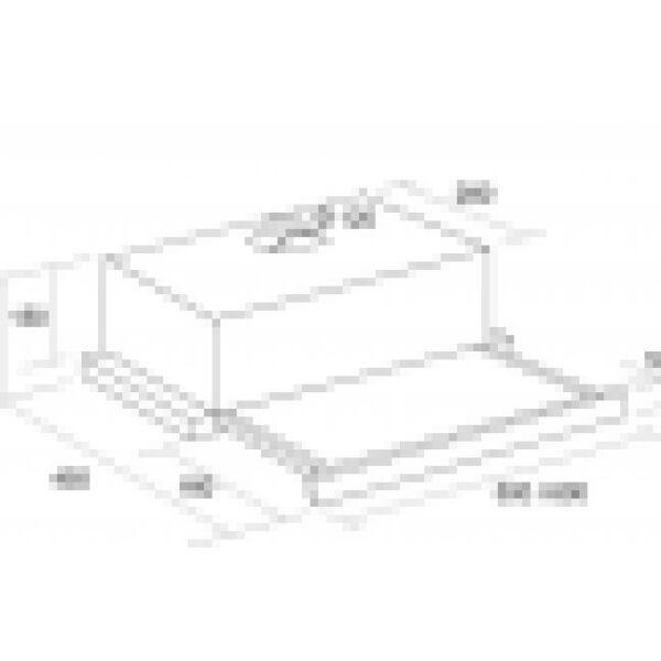 Вытяжка кухонная PYRAMIDA TL 50 SYE-26 INOX