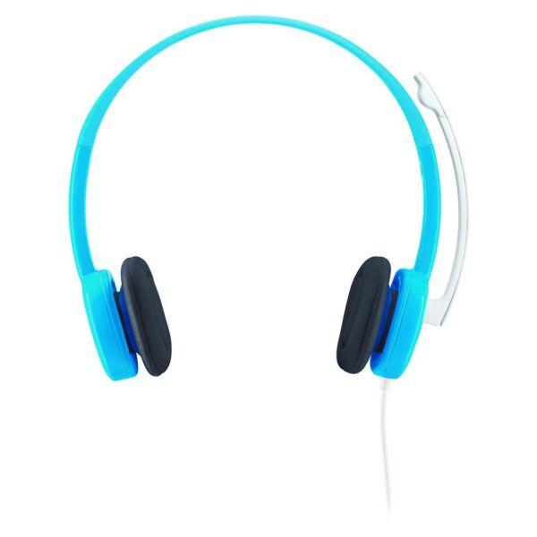 Гарнитура с микрофоном LOGITECH H150 Sky Blue