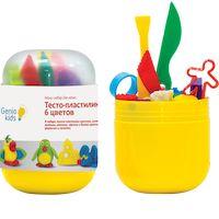 270x270-Набор для творчества GENIO KIDS-ART Тесто-пластилин 6 цветов (TA1065)