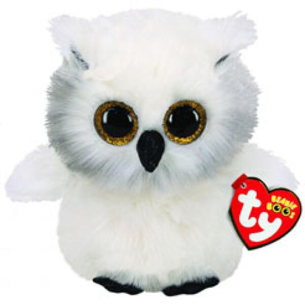 Мягкая игрушка TY INC Сова Snowy (36305)