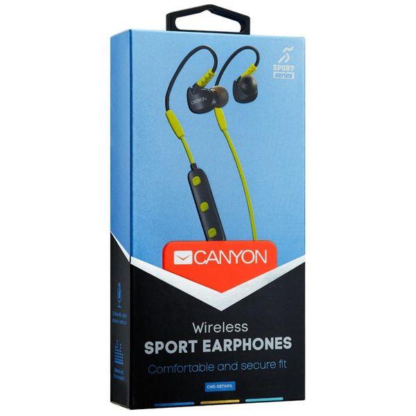 Bluetooth-наушники CANYON CNS-SBTHS1L лайм