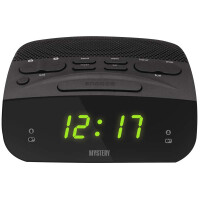 270x270-Часы-будильник MYSTERY MCR-23 green
