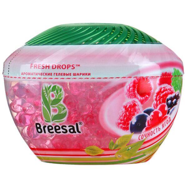 Освежитель воздуха BREESAL Aroma Drops Сочность ягод 215г
