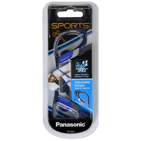 Спортивные наушники PANASONIC RP-HS34E-A синий