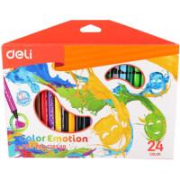 270x270-Фломастеры DELI Color Emotion (C10120) 24 цвета