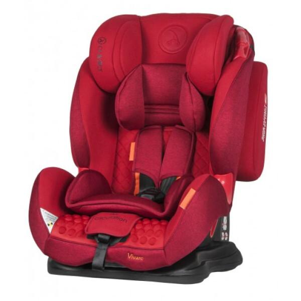 Автокресло COLETTO Vivaro Isofix (красный)