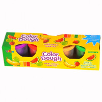 Набор пластилина (теста) для лепки LILI Color Dough 4 цвета (M0026751)