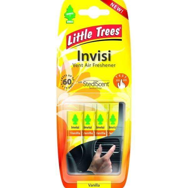 Ароматизатор-дефлектор для салона авто LITTLE TREES Invisi Ваниль