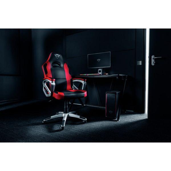 Кресло компьютерное Trust GXT 705 Ryon (черный/красный)