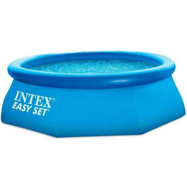 Надувной бассейн Intex Easy Set 28122 + фильтр-насос