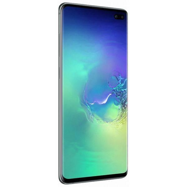 Смартфон Samsung Galaxy S10+ аквамарин (SM-G975FZGDSER)