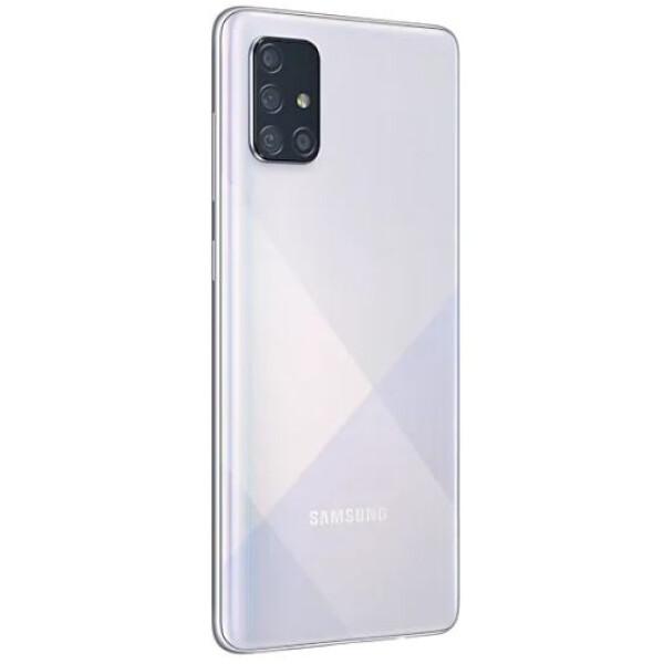 Смартфон Samsung Galaxy A71 (белый)