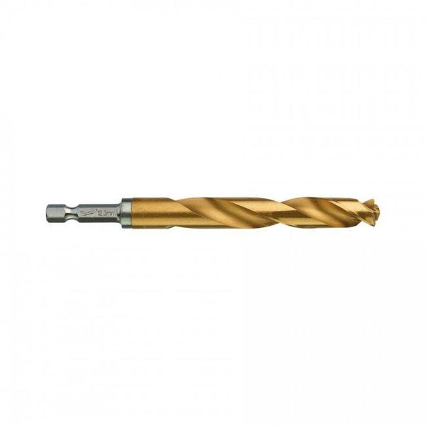 Сверло по металлу MILWAUKEE Shockwave RedHEX HSS-G TiN 12x127mm (48894727)