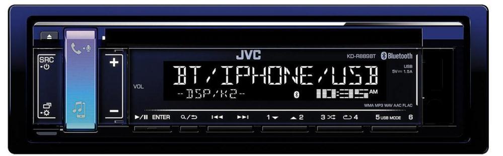 Автомагнитола JVC KD-R889BT