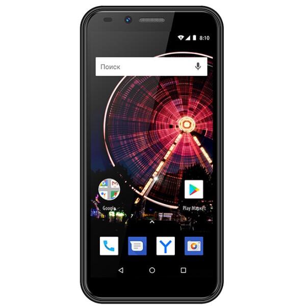 Смартфон Vertex Impress Flash (3G) черный