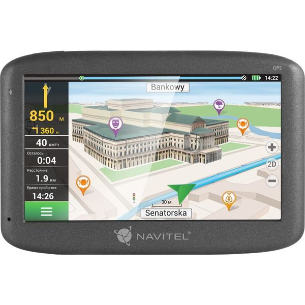 GPS навигатор Navitel E500 (СНГ + Европа)