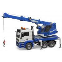 Автокран BRUDER MAN TGS Kran-LKW со звуковыми и световыми эффектами (03770)