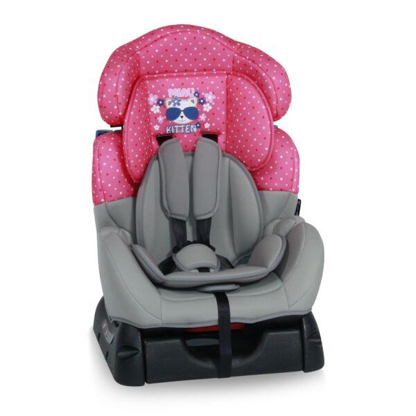 Детское автокресло LORELLI SAFEGUARD PINK KITTY 0-25 кг